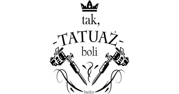 Koszulka Tak Tatuaż Bolibardzo